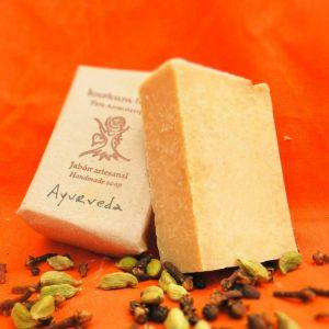 Jabón artesanal Ayurveda