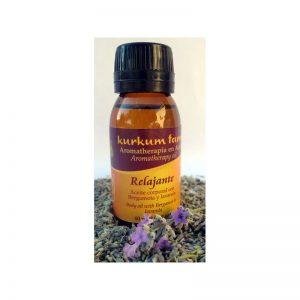 Aceite para masajes relajante