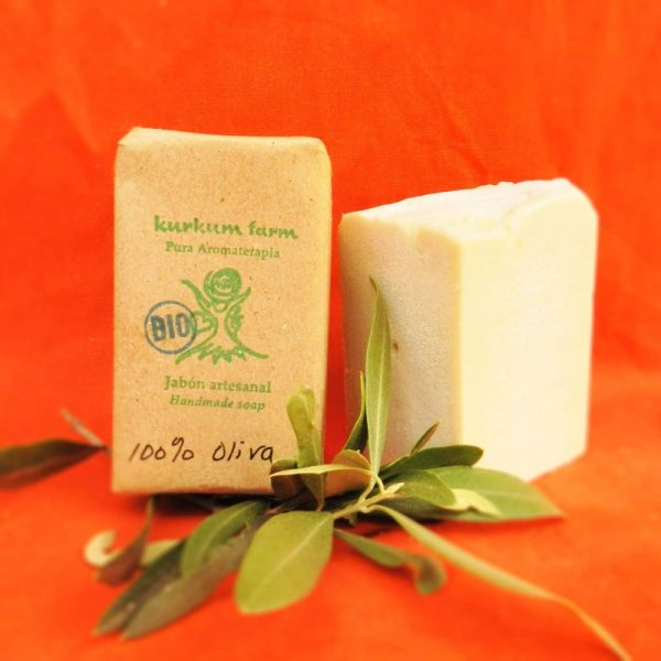 Jabón artesanal de aceite de oliva