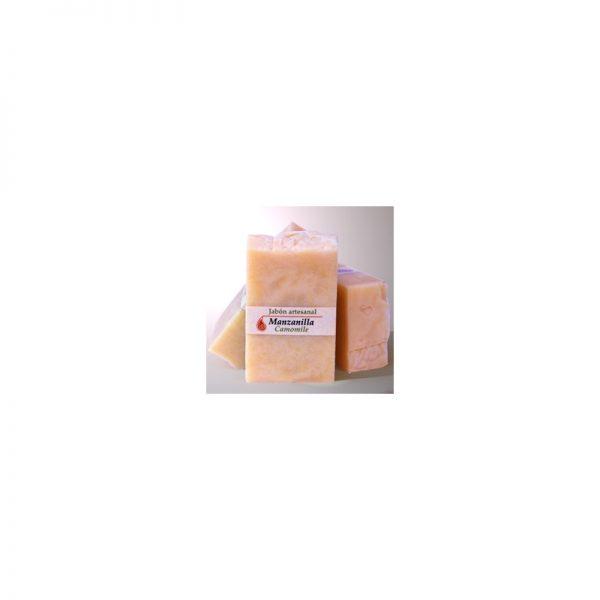 Jabón artesanal de manzanilla y caléndula